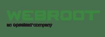 Webroot - an opentext company - logo