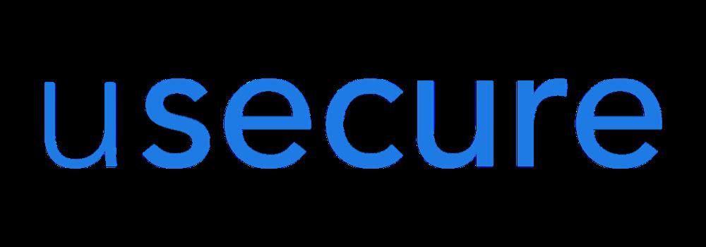 usecure Logo - Primary Blue - Transparent Background